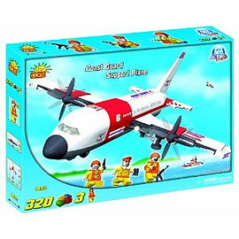 Action Town 320 Pcs Coast Guard Support Plane Figurines and Sets