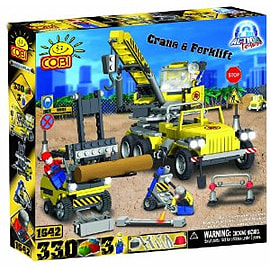 Action Town 330 Crane Figurines and Sets