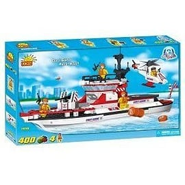 Action Town 400 Pcs Patrol Vessel Figurines and Sets