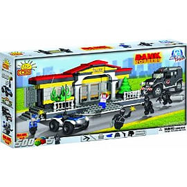 Action Town 500 Bank Robbery Figurines and Sets