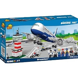 Boeing 787 Dreamliner Airport 1000 Pcs Figurines and Sets