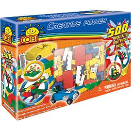 Creative Power 500 Pcs Blocks Figurines and Sets