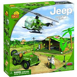 Jeep 300 Pcs M.A.S.H. Training Camp Figurines and Sets