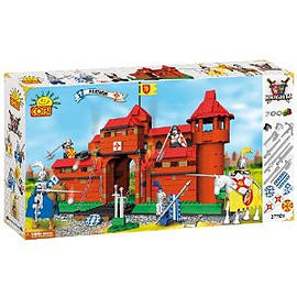 Knights 700 Pcs Fortress Figurines and Sets