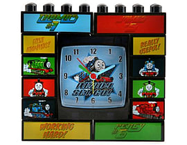 Thomas and Friends Built It Building Blocks Alarm Clock Figurines and Sets