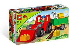 Lego Duplo: Big Tractor Figurines and Sets