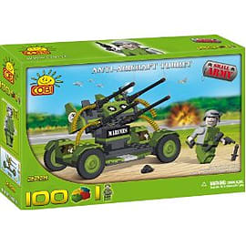 Small Army 100 Pcs Anti-aircraft Turret Figurines and Sets