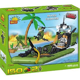 Cobi Small Army 150 Pcs River Fighter Figurines and Sets