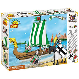 Cobi Knights 250 Pcs Boat Figurines and Sets