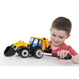 Jcb Multi Construct - Backhoe Figurines and Sets