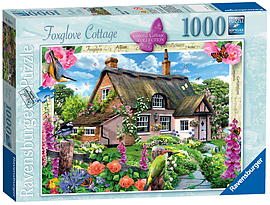 Country Cottage Collection - Foxglove Cottage (1000 Pieces) Traditional Games