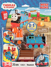 Mega Blocks Thomas and Friends Thomas and Wagon Blocks and Bricks