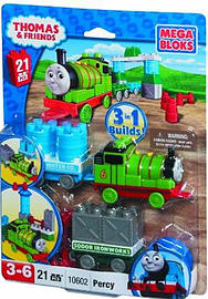 Mega Blocks Thomas and Friends Percy and Wagon Blocks and Bricks