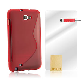 Blackberry Passport S-Line Gel Case - Red Mobile phones
