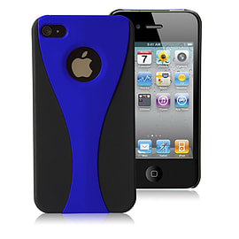 Apple iPhone 4/4s Night Cup Hard Back Case - Blue Mobile phones