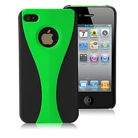 Apple iPhone 4/4s Night Cup Hard Back Case - Green Mobile phones