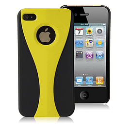 Apple iPhone 4/4s Night Cup Hard Back Case - Yellow Mobile phones