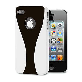 Apple iPhone 4/4s Day Cup Hard Back Case - Black Mobile phones