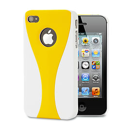 Apple iPhone 4/4s Day Cup Hard Back Case - Yellow Mobile phones