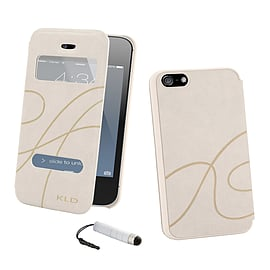 Apple iPhone 4/4s S-View Window Case - White Mobile phones