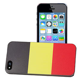 Apple iPhone 4/4s National Flag Hard Back Case - Belgium Mobile phones