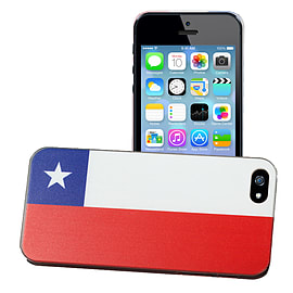 Apple iPhone 4/4s National Flag Hard Back Case - Chile Mobile phones