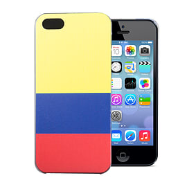 Apple iPhone 4/4s National Flag Hard Back Case - Colombia Mobile phones