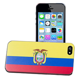 Apple iPhone 4/4s National Flag Hard Back Case - Ecuador Mobile phones