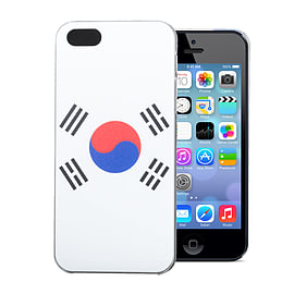 Apple iPhone 4/4s National Flag Hard Back Case - Korea Republic Mobile phones
