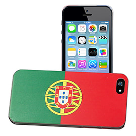 Apple iPhone 4/4s National Flag Hard Back Case - Portugal Mobile phones