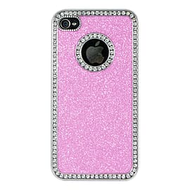 Apple iPhone 5/5s Glitter Hard Back Case - Baby Pink Mobile phones