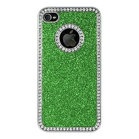 Apple iPhone 5/5s Glitter Hard Back Case - Green Mobile phones