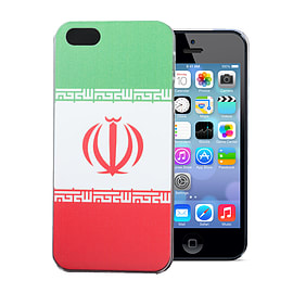 Apple iPhone 5/5s National Flag Hard Back Case - Iran Mobile phones
