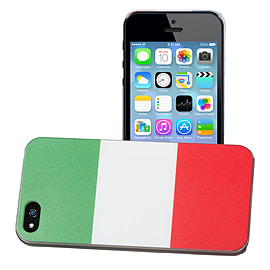 Apple iPhone 5/5s National Flag Hard Back Case - Italy Mobile phones
