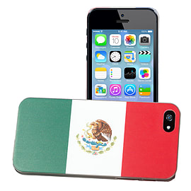 Apple iPhone 5/5s National Flag Hard Back Case - Mexico Mobile phones