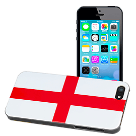 Apple iPhone 5/5s Premium National Flag Hard Back Case - England Mobile phones