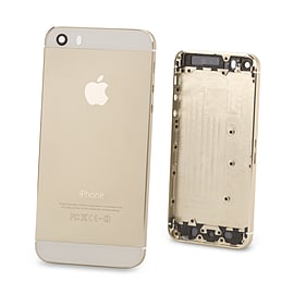 Apple iPhone 5/5s Replacement Back Cover - Gold Mobile phones