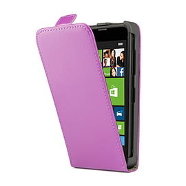 Sony Xperia Z1 Stylish PU Leather Flip Case - Purple Mobile phones
