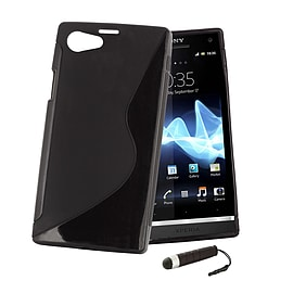 Sony Xperia Z1 Compact Ultra Slim S-Line Case - Black Mobile phones