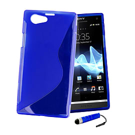 Sony Xperia Z1 Compact Ultra Slim S-Line Case - Deep Blue Mobile phones