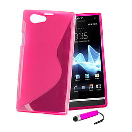 Sony Xperia Z1 Compact Ultra Slim S-Line Case - Hot Pink Mobile phones
