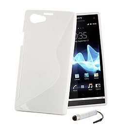 Sony Xperia Z1 Compact Ultra Slim S-Line Case - White Mobile phones