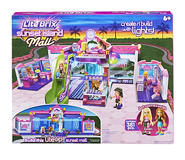 Lite Brix Sunset Island Mall Figurines and Sets