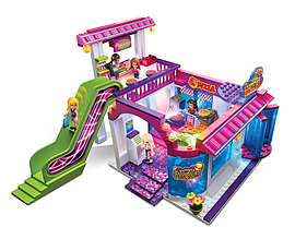 Lite Brix Sunset Island Mall Food Court Figurines and Sets