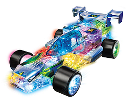 Lite Brix Lumi-Star Racer Figurines and Sets
