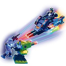 Lite Brix Wars War Hawk Vs. Blaze Figurines and Sets