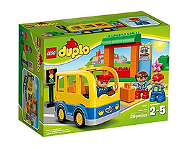 Lego Duplo : School Bus Figurines and Sets