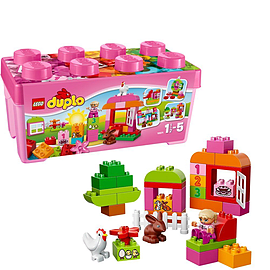 Lego Duplo Creative Play : All-in-one-box-of-fun (pink) Figurines and Sets