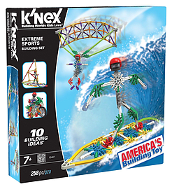 KNex Extreme Sports Building Set Figurines and Sets