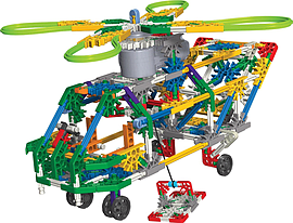 KNex Transport Chopper Building Set Figurines and Sets